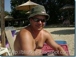 στην παραλία του ¨Αλέξανδρος¨στην Τρυπητή
